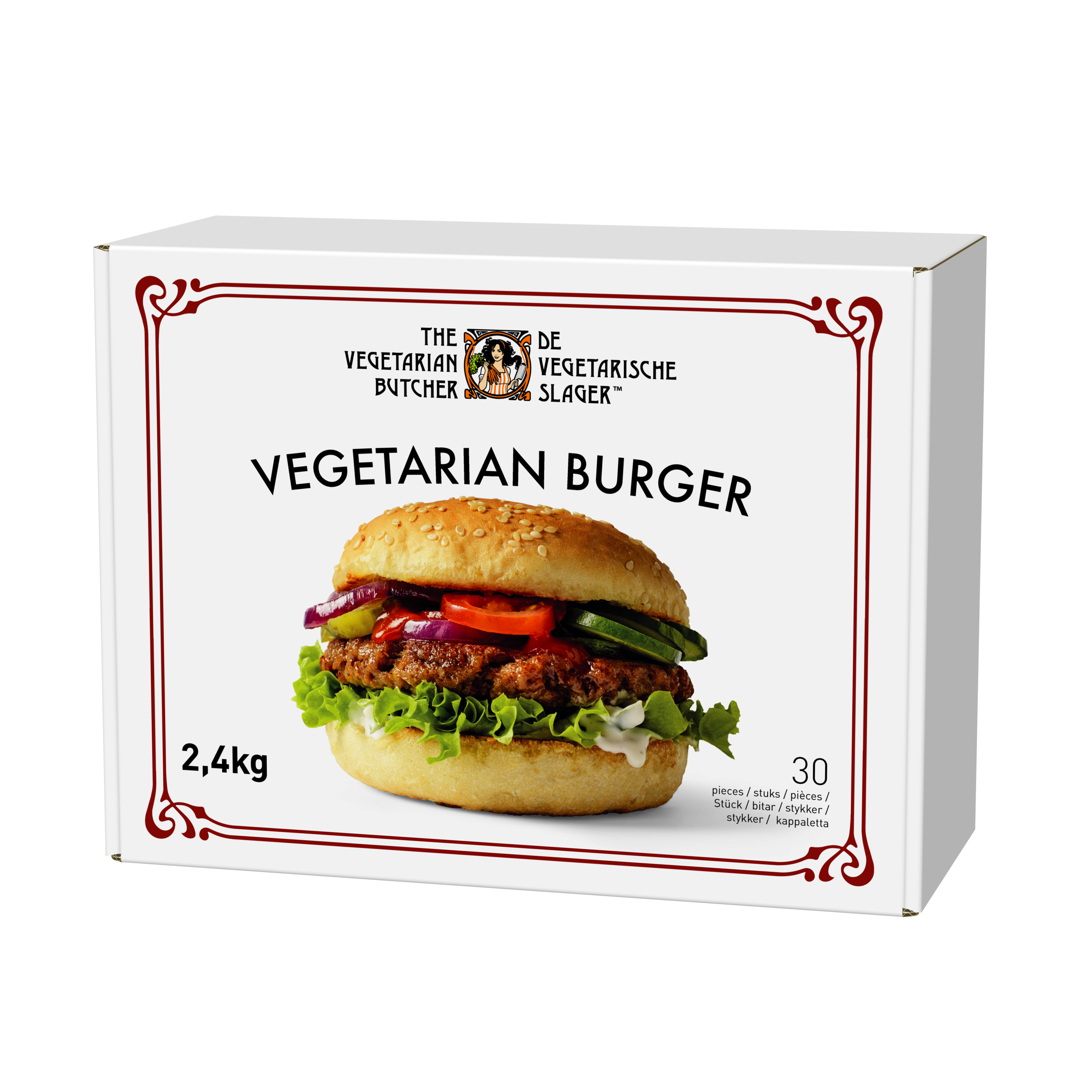 The Vegetarian Butcher - Raw NoBeef Burger